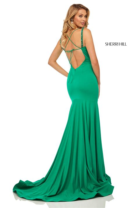 Sherri Hill 52883 - Mermaid with Lace Up Back