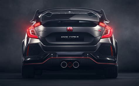 Honda Civic Type R Prototype (2016) Wallpapers and HD