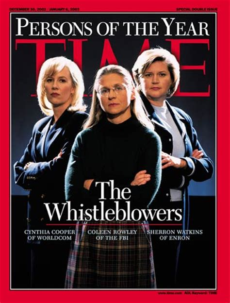The Fall of WorldCom and Rise of Corporate Whistleblowing