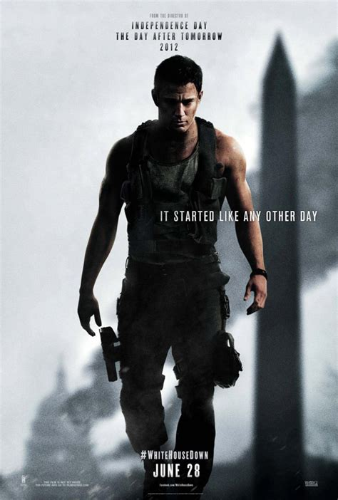 New 'White House Down' Posters and Photos
