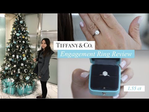 Show me your wedding band with Tiffany/style solitaire e ring!