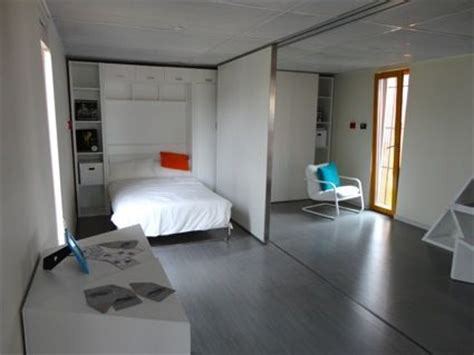 Bedroom with a Moveable Partition Wall | could eventually