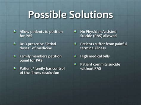 PAS - physician assisted suicide
