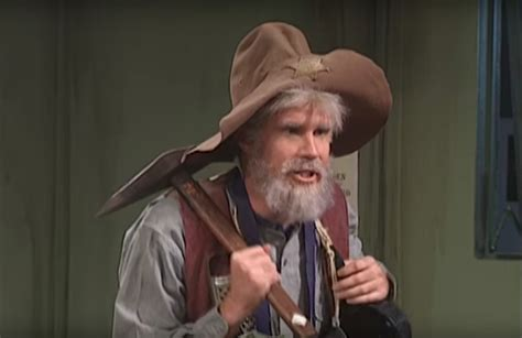 SNL Old Prospector Sketch with Will Ferrell Is Hilarious