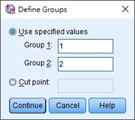 SPSS Excel Independent T Test