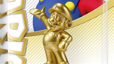 Mario Turns Silver and Gold with Two New amiibo Coming