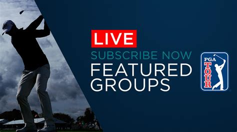 LIVE!@!PGA Tour Featured Groups Live Stream 2018 Full HD