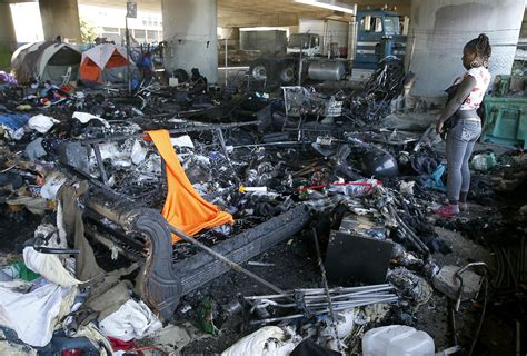 Oakland clears out homeless encampment experiment