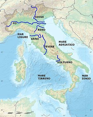 List of rivers of Italy - Wikipedia