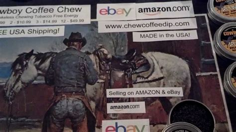 Cowboy Rodeo Chewing Spit Tobacco Free Energy Alternative