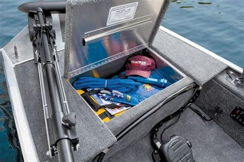 Bow deck storage compartment http://www
