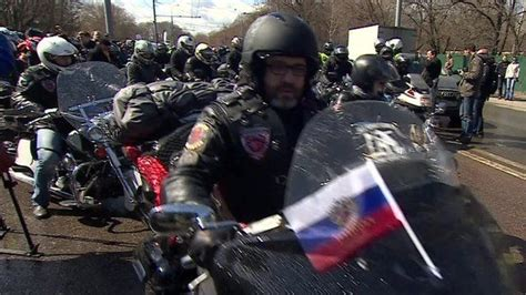 Putin's 'Hells Angels' set off from Moscow for Berlin