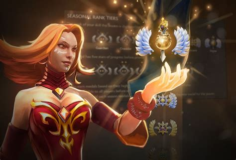Dota 2 gets multi-tiered Rank Medal system | PC Gamer