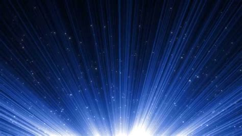Blue Particle Burst - HD Motion Graphics Background Loop