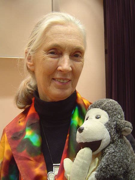 Jane Goodall on the link between people and animals