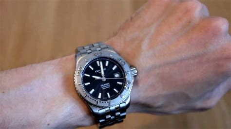 Certina automatic diver (ds first) - YouTube