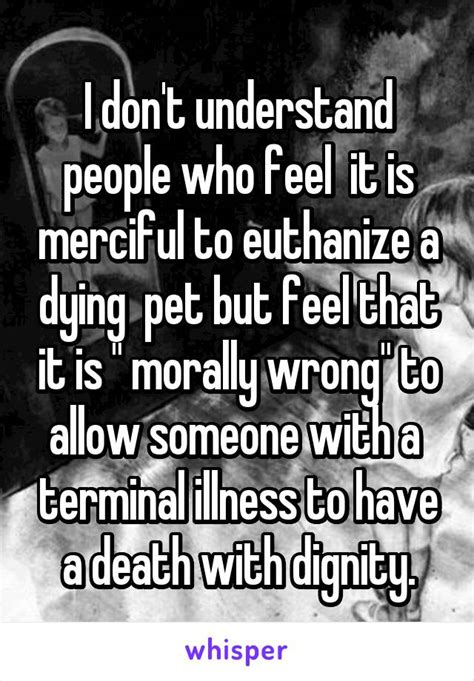 Why is euthanasia morally wrong