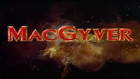 This is why the original MacGyver had to be canceled