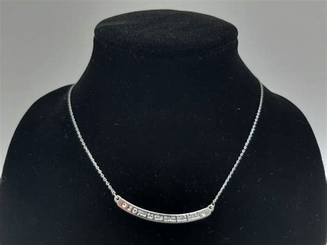 Ketting i love you to the moon and back - zilver   Yoonz