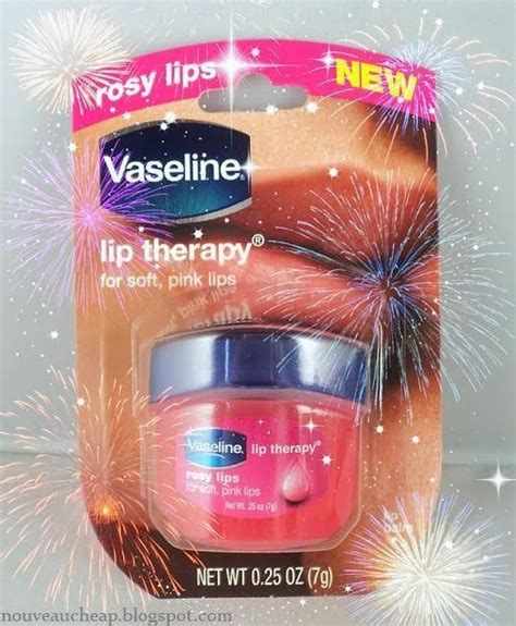 Review: Vaseline Rosy Lips Lip Therapy | Pink lips