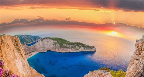 Ionian cruise route